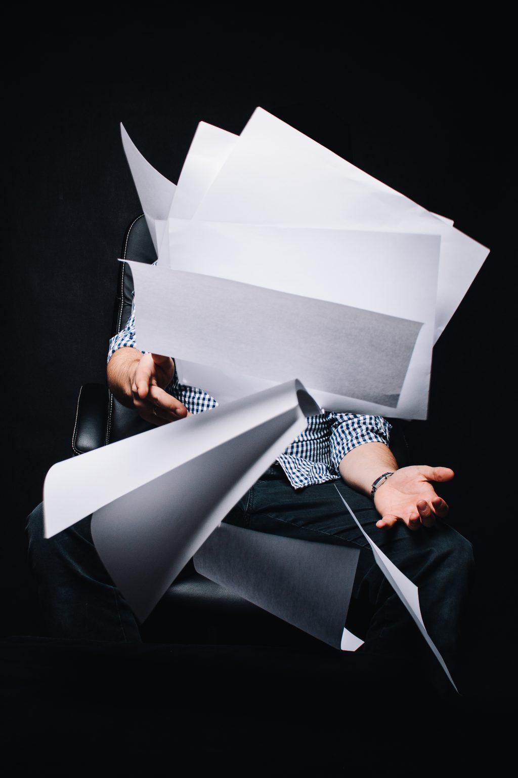 Konturlosigkeit - das Vakuum des Erfolgs stellt sich häufig unbemerkt ein.